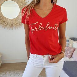 T-shirt Turbulente R Tropéziennes